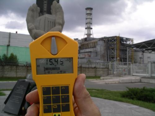 Radiación en Chernóbil en Junio de 2010